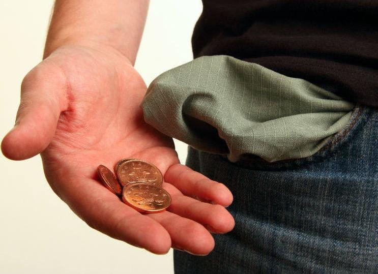 Dinheiro curto